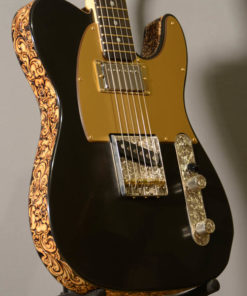 Black Jack Tele Guitar by BurnWizard