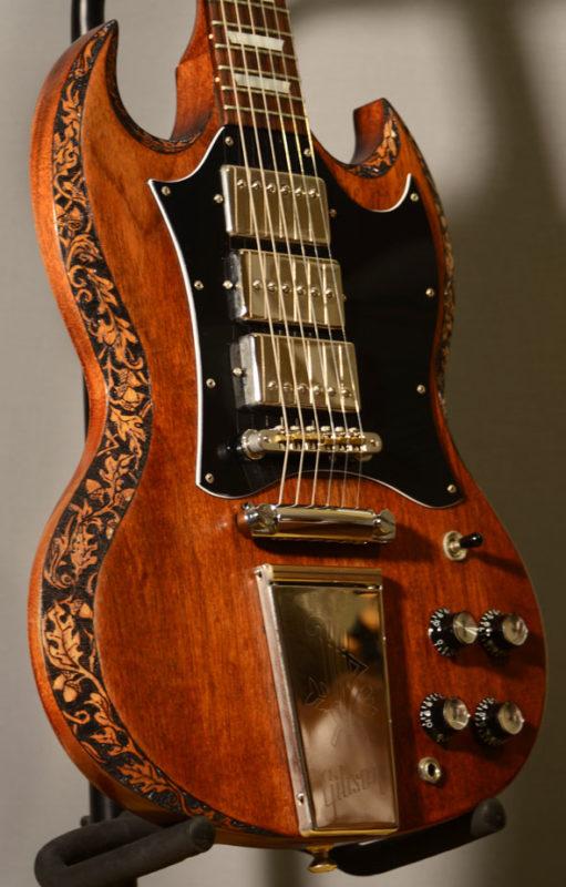BurnWizard Sweet Georgina SG Custom Guitar