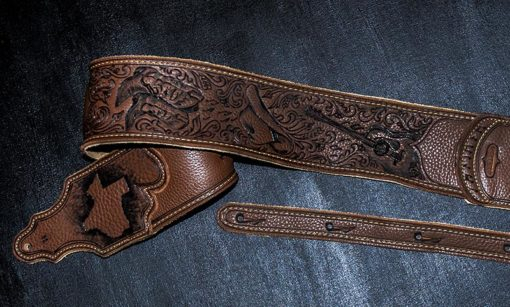 burnwizard_texas_cowboy_boots_hat_guitar_strap